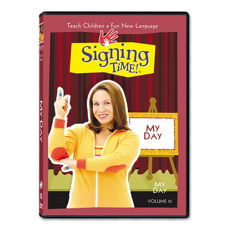 Signing Time Volume 10: My Day