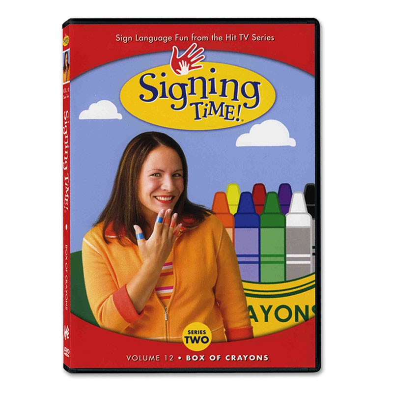 Signing Time! Series 2, Vol. 12: Box of Crayons - DVD