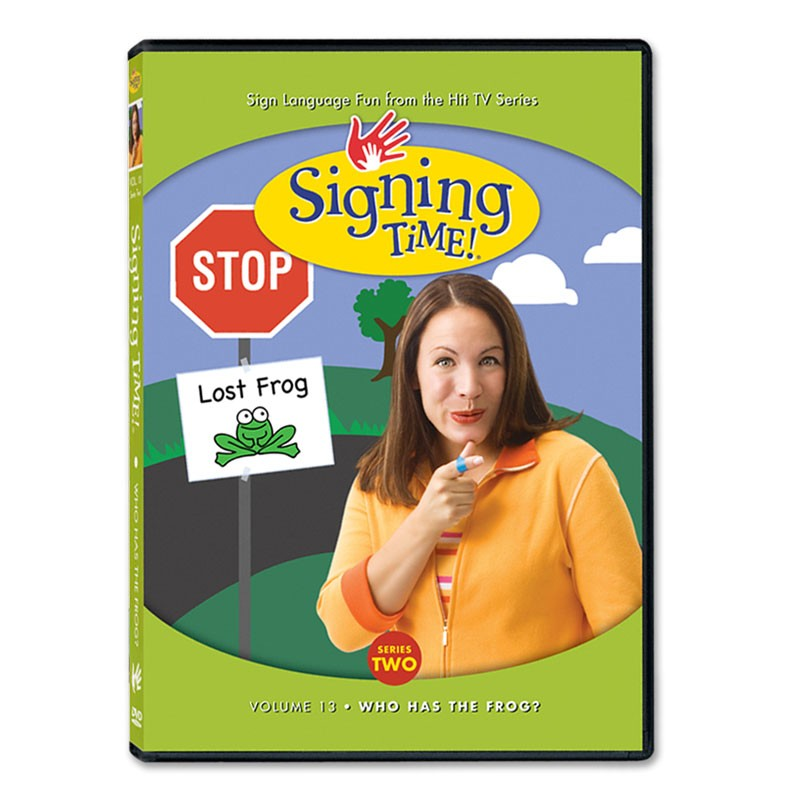 Signing Time! Series 2, Vol. 13: Who Has the Frog