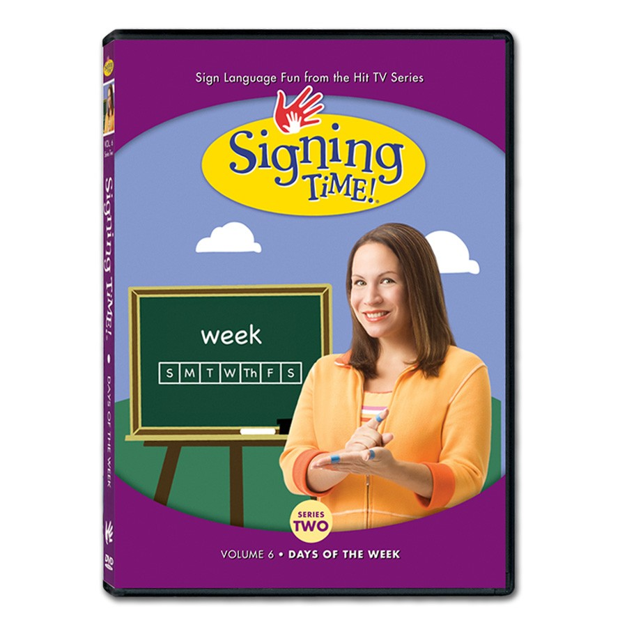 Signing Time! Series 2, Vol. 6: Days of the Week