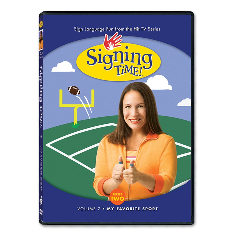 Signing Time! Series Two Vol. 7: My Favorite Sport