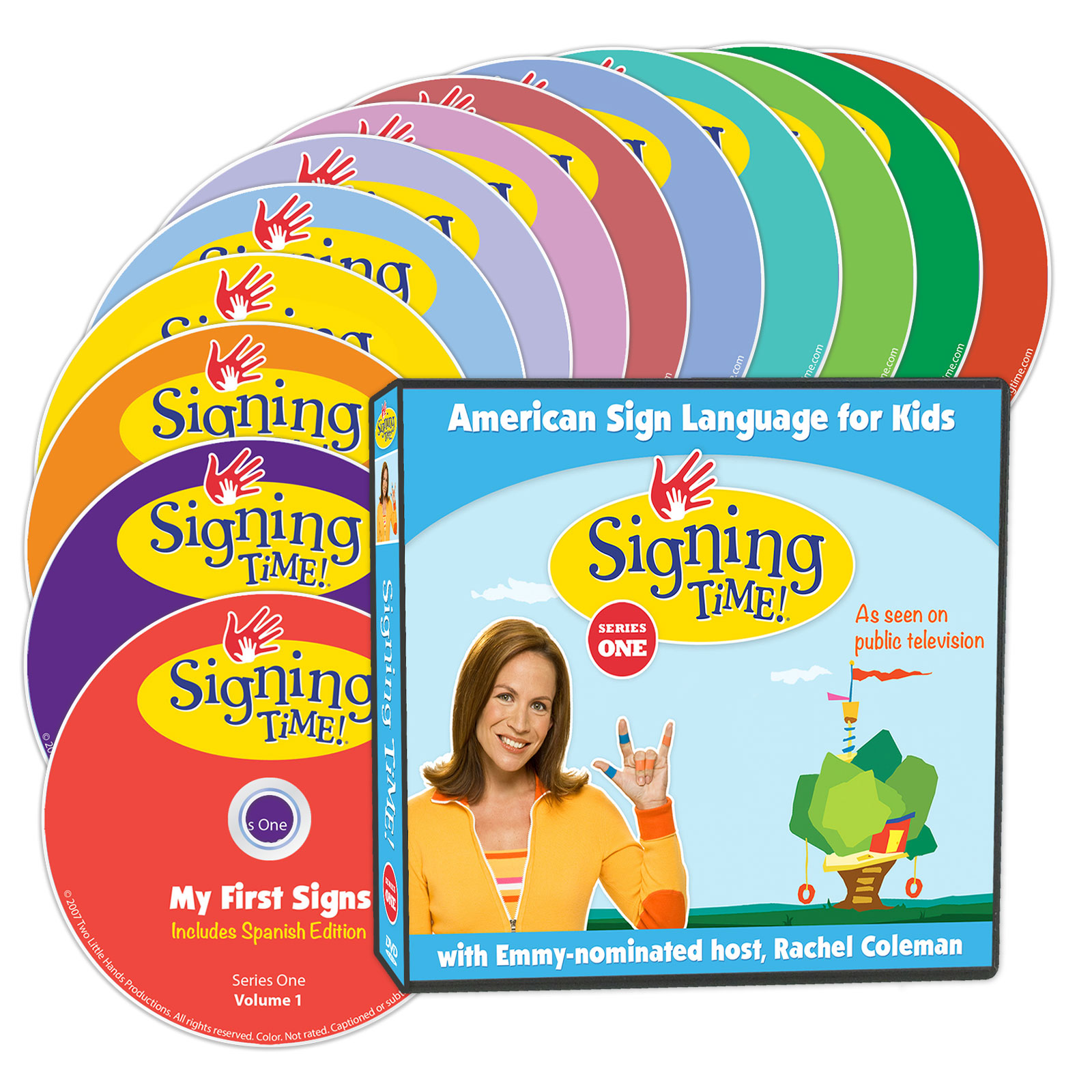 Signing Time Season One Learning System (DVD Edition)