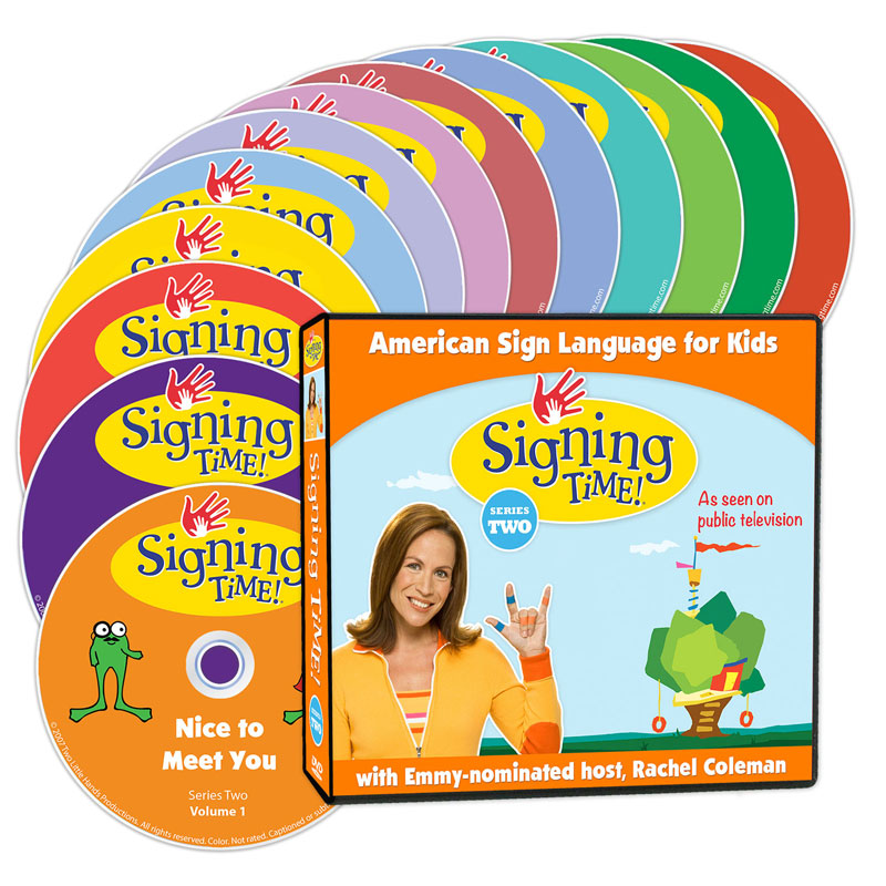 Signing Time Season Two Learning System - (DVD Edition)